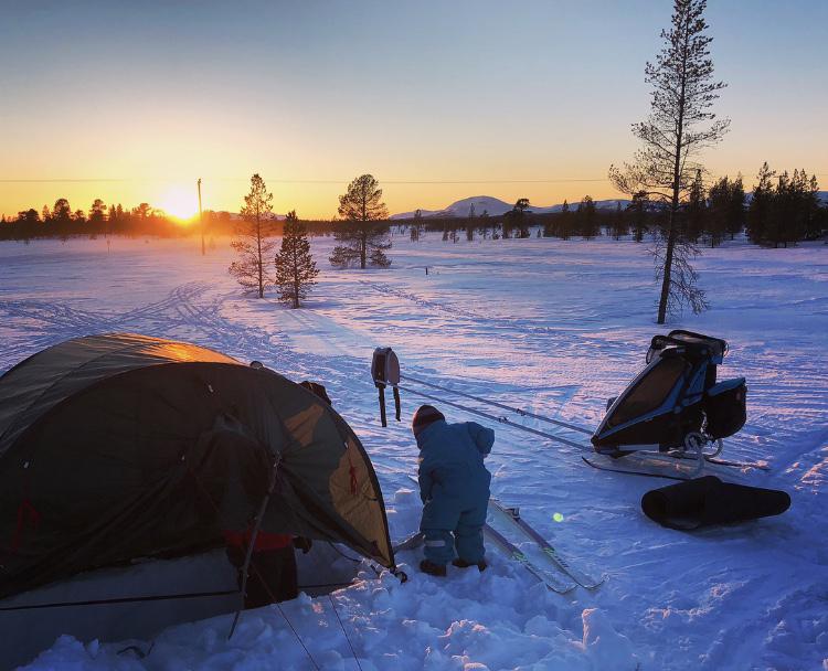 tält vinter | Utveckling o Äventyr