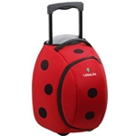 Littlelife Wheelie Bag Ladybird