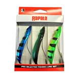 Rapala Minnow Spoon 3-pack