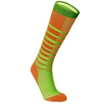 2XU Striped Run Compression Socks M