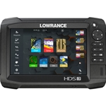 Lowrance HDS-7 Carbon ROW Med/High/3D Bundle
