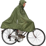 Exped Daypack & Bike Poncho Green
