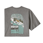 Patagonia M's Fed Up With Melt Down Responsibili-Tee - T-shirt för herrar