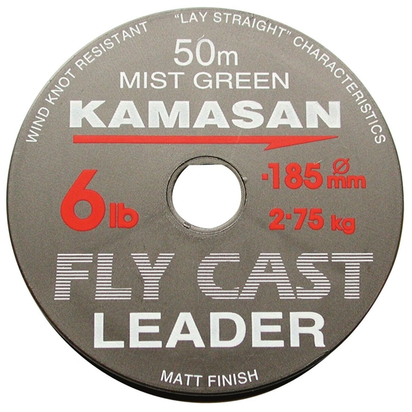 Kamasan Fly Cast Leader-50M