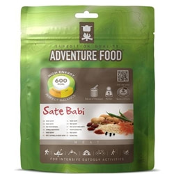 Adventure Food Rice Satay, enkelportion