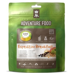 Adventure Food Expedition Breakfast, enkelportion