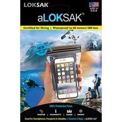 aLoksak Smartphone XL inkl lanyard Vattentäta fodral 2-p
