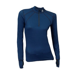 Aclima Lightwool Zip Shirt Woman
