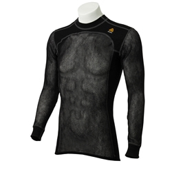 Aclima M's Woolnet Crew Neck Shirt