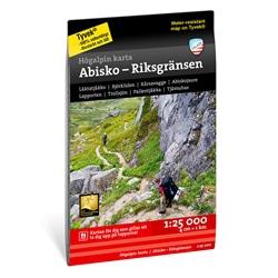 Calazo Abisko, Björkliden – Riksgränsen 1:25.000