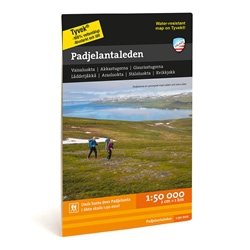Calazo Padjelantaleden 1:50.000