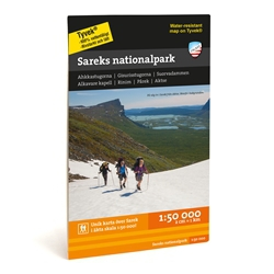 Calazo Sareks Nationalpark 1:50.000