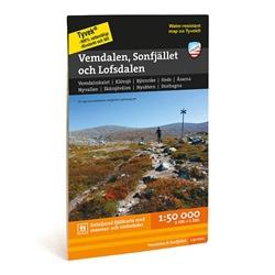 Calazo Vemdalen, Sonfjället & Lofsdalen 1:50.000