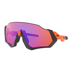 Oakley Flight Jacket Neon Orange/Prizm Trail