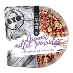 Lyofood Organic Millet Porridge With Raspberries & Aronia Powder
