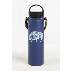 United By Blue Wild & Free 22Oz Stainless Steel Bottle - Lila vattenflaska i rostfritt stål från United by Blue