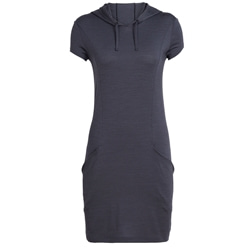 Icebreaker Womens Yanni Hooded Dress, sommarklänning med huva
