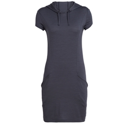 Icebreaker Womens Yanni Hooded Dress