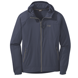 Outdoor Research Men's Ferrosi Hooded Jacket,softshelljacka