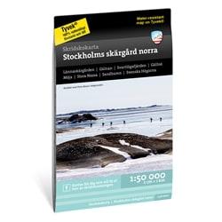 Calazo Skridskokarta Stockholms Skärgård - Norra 1:50.000