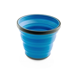 GSI Escape 17 Fl. Oz. Cup- Blue, hopvikbar mugg