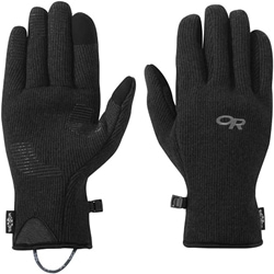Outdoor Research Or Men's Flurry Sensor Gloves är mjuka och varma trekkinghandskar