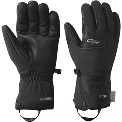 Outdoor Research Or Stormtracker Heated Sensor Gloves är batteridrivna värmehandskar med gore-tex windstopper