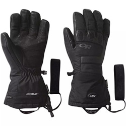Outdoor Research Or Lucent Heated Sensor Gloves är batteridrivna värmehandskar med gore-tex.