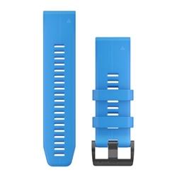 Garmin Watchband 26Mm Quickfit Cyan Blue Silicone Band
