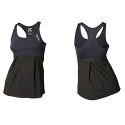 2Xu Double Lyr Racer Back Compression Top - Woman