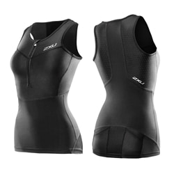 2Xu Performance Compression Tri Singlet  Woman - Tävlingslinne
