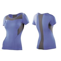 2Xu Short Sleeve Compression Top – Woman – Blue