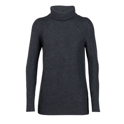 Icebreaker Wmns Waypoint Roll Neck Sweater
