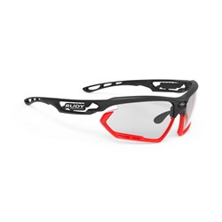 Rudy Project Fotonyk Black Matte/Red Fluo B Lens