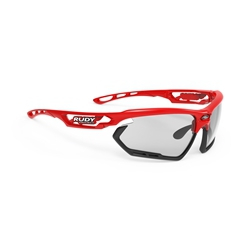 Rudy Project Fotonyk Red Fluo/Black Bumper Lens