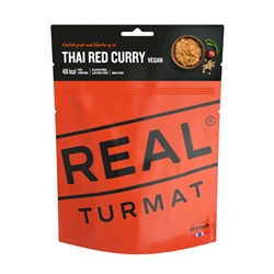 Real Turmat Vegan Thai Red Curry With Rice