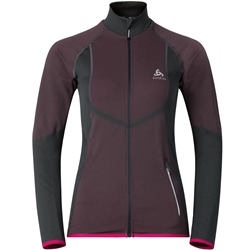 Odlo Jacket Velocity Light Rumba Red Woman