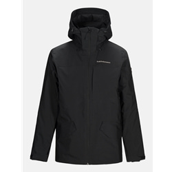 Peak Performance Maroon Long Jacket