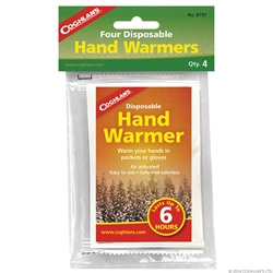Coghlans Disposable Hand Warmers - 4-Pack
