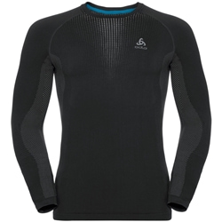 Odlo M's Bl Top Crew Neck L/S Performance Warm