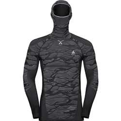 Odlo M's Bl Top With Facemask L /S Blackcomb