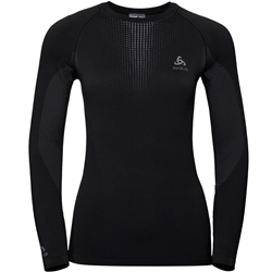 Odlo W's Bl Top Crew Neck L/S Performance Warm