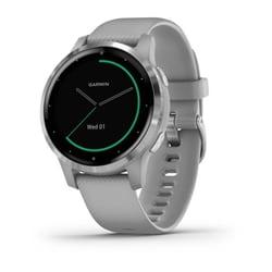 Garmin Vivoactive 4S, Gps, Wi-Fi, Powder Gray/Silver