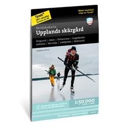 Calazo Skridskokarta Upplands Skärgård 1:50.000