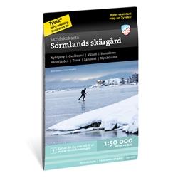 Calazo Skridskokarta Sörmlands Skärgård1:50.000