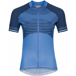 Odlo Stand-Up Collar S/S Full Zip Zeroweight Women