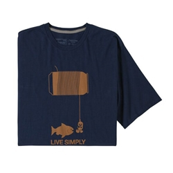 Patagonia M's Live Simply Happy Hour Organic T-Shirt