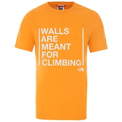 The North Face M S/S Walls Are For Climbing Tee