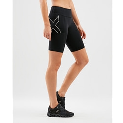 2Xu Run Mid Rise Dash Comp Shorts Women