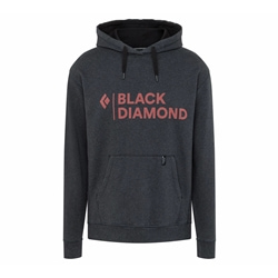 Black Diamond M Stacked Logo Hoody